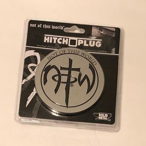 Hitch Cover Plug Not Of This World Solid Metal